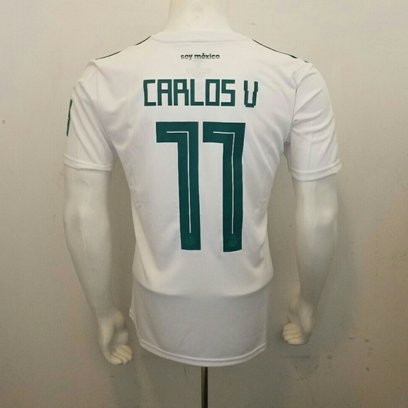 73f87b833 CARLOS VELA MEXICO AWAY JERSEY WORLD CUP 2018